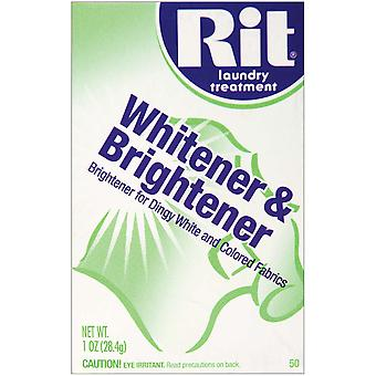 Rit Dye Powder Whitener & Brightener 1 Ounce Mar 50