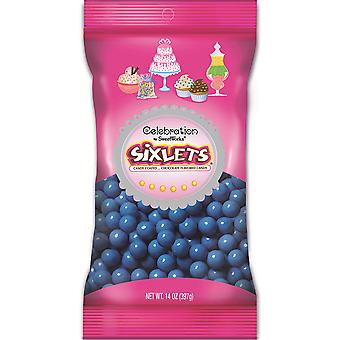 Celebrations By Sweetworks Sixlets(R) 14oz-Blue CSX95055