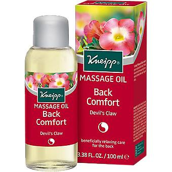 Kneipp Back Comfort Devil's Claw Massage Oil
