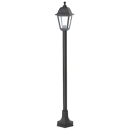 Endon EL-40044 Enluce Black Rust Proof Outdoor Lampost Light IP44
