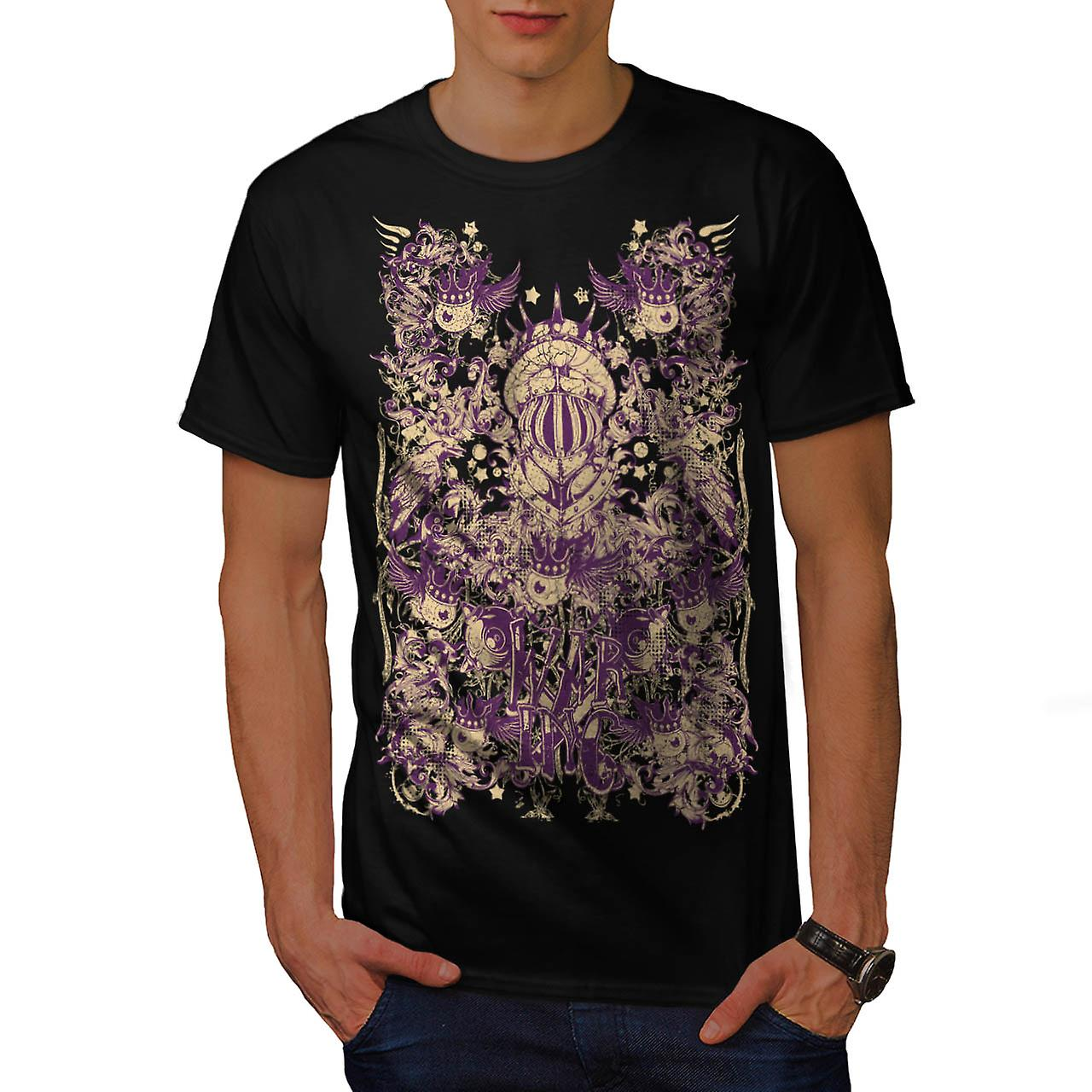 War Inc. Zombie Fashion Men Black T-shirt | Wellcoda