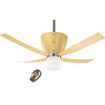 "Ceiling Fan Valhalla 132 cm / 52"" Light Beech"