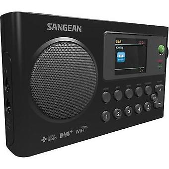 Internet Portable radio Sangean WFR-27 C DAB+, Internet radio, FM Battery charger Black