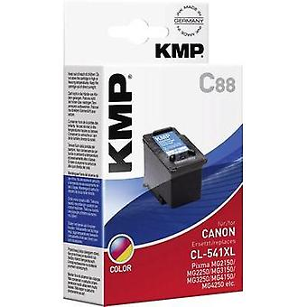 KMP Ink replaced Canon CL-541 Compatible Cyan, Magenta, Yellow C88 1517,4030