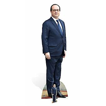 Francois Hollande Lifesize Cardboard Cutout / Standee / Stand Up
