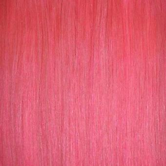 Pink - Clip-in Hair Piece - 18 inch