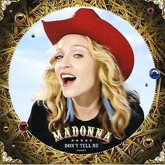 Madonna - Don't Tell Me USA import
