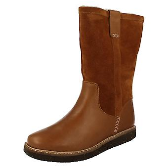 Ladies Clarks Mid-Calf Boots Glick Elmfield