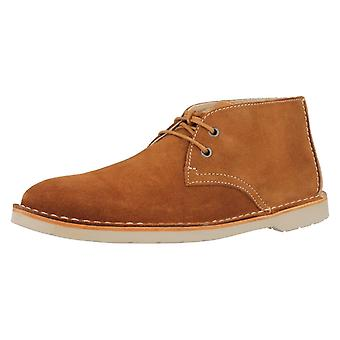Mens Clarks Desert Style Ankle Boots Hinton Rise