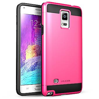 i-Blason-Samsung Galaxy Note 4 Case - Unity Series Armored Hybrid Case - Pink
