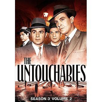 Untouchables - Untouchables: Staffel 3 Volumen 2 [DVD] USA import