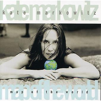 Kate Markowitz - karta av världen [CD] USA import