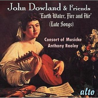 Consort of Musicke - John Dowland & Friends: Lute Songs [CD] USA import