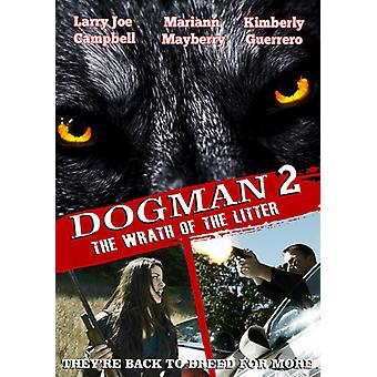 Dogman 2: Wrath of kuld [DVD] USA importerer