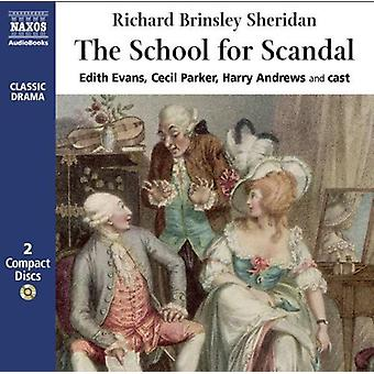 Richard Brinsley Sheridan - School voor schandaal [CD] USA import