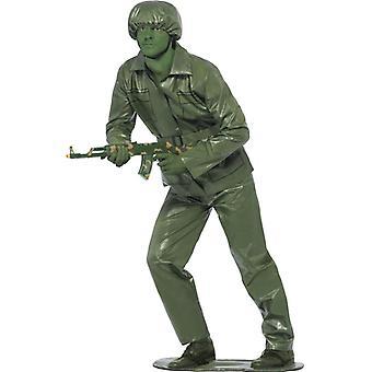 Пластиковый солдат костюм 80s игрушка солдат игрушка солдат Господа