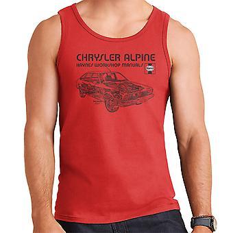 Haynes Workshop Manual 0337 Chrysler Alpine Black Men's Vest