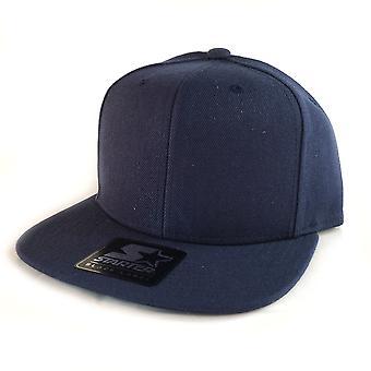 Starter Branded Snapback Cap - Navy