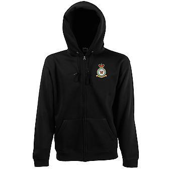 Fjällräddningen broderad Logo - officiell Royal Air Force zip Hoodie jacka