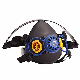 Portwest - Vancouver Well-Balanced Durable Bayonet Half Respirator Mask