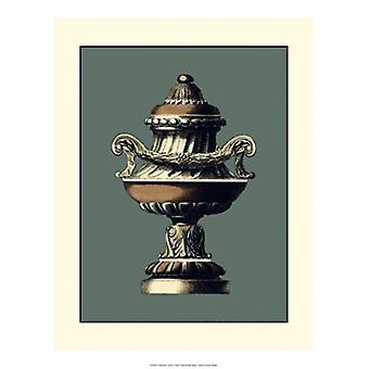 Classical Urn IV Poster Print by Vision studio (15 x 19)