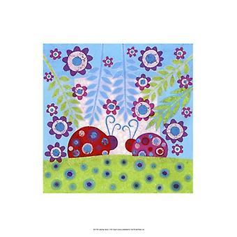Lieveheersbeestje Spots Poster Print by Kim Conway (13 x 19)