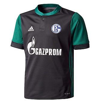 2017-2018 Schalke Adidas третьей рубашка (дети)