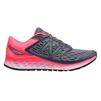 1080 V6 Womens D Width WIDE Road Running Shoes Silver/Pink