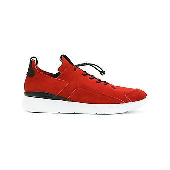 Enso men ENS17005RED red suede of sneakers