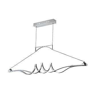 Maytoni Lighting Wave Modern Collection Pendant, Chrome