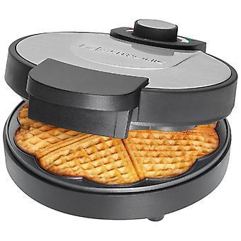 Waffle-maker Clatronic WA 3492 black/steel Inox