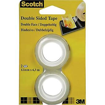 Double sided adhesive tape 3M Scotch® 665 Transparent (L x W) 6.