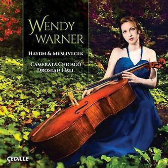 Haydn/Myslivecek - Haydn & Myslivecek: Cello koncerter [CD] USA import