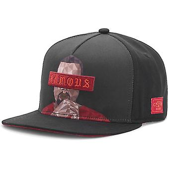 Cayler & sons Snapback Cap - drop out black / red