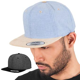 Flexfit CHAMBRAY SUEDE Snapback Cap