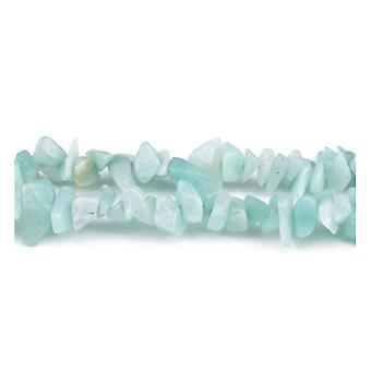 Long Strand 240+ Turquoise Amazonite 5-8mm Chip Beads GS3229