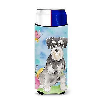 Easter Eggs Schnauzer #2 Michelob Ultra Hugger for slim cans