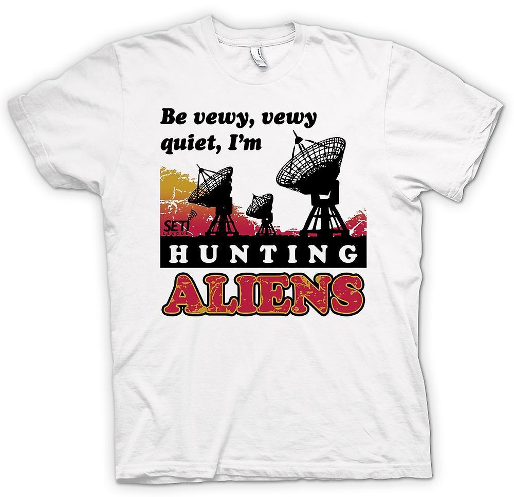 Camiseta para hombre - SETI - UFO - Alien cazadores - Astronomía