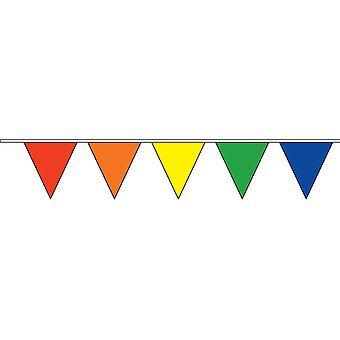 Trekantet Rainbow Bunting