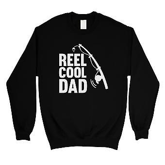 Haspel Cool Papa Mens/Unisex schwarz Fleece-Sweatshirt