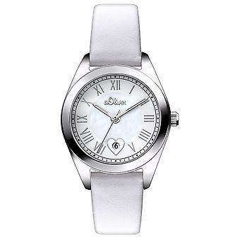 s.Oliver Damen Uhr Armbanduhr SO-2973-LQ