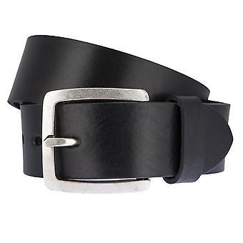 LLOYD Men's belt belts men's belts leather belts men's leather belts black 2592