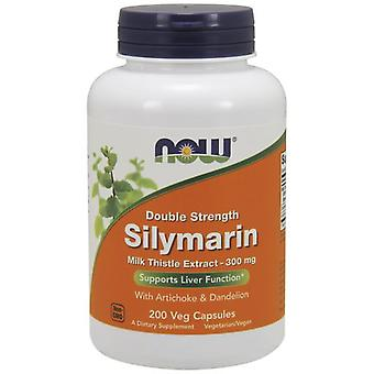 Now Foods Silymarin With Artichoke & Dandelion 300 mg 200 Veggie Capsules