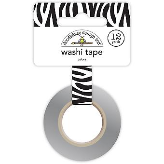 At The Zoo Washi Tape-Zebra