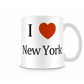 I Love New York Painettu Muki