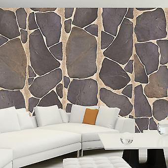 Tapet - Rock mosaik