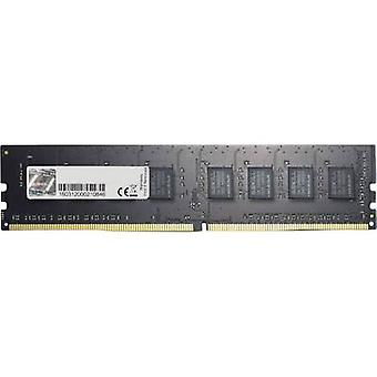 G.Skill PC RAM memory Value F4-2400C15S-8GNT 8 GB 1 x 8 GB DDR4 RAM 2400 MHz CL15-15-15-35