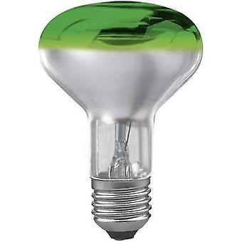Paulmann Light bulb 230 V E27 60 W Green EEC: E Reflector bulb dimmable Content 1 pc(s)