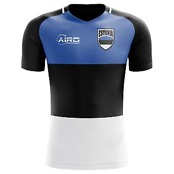 2018-2019 Estonia Home Concept Football Shirt