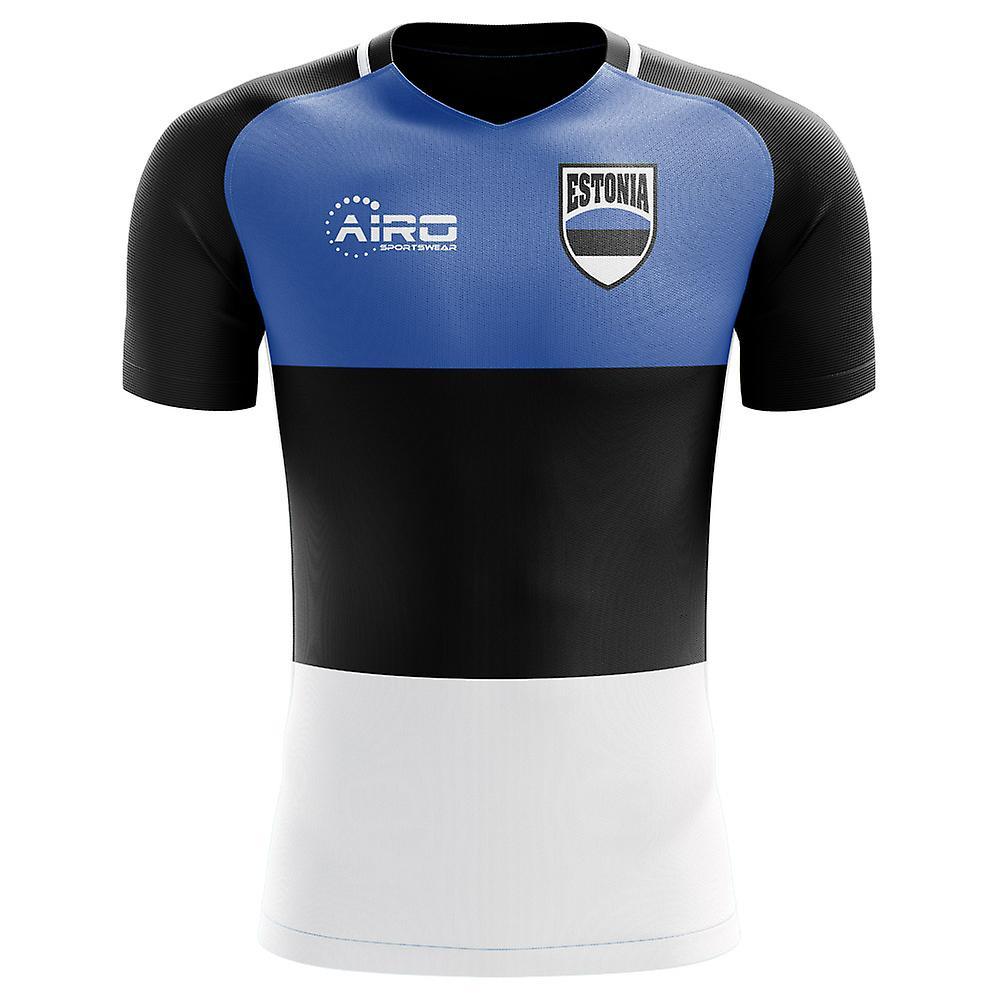2018-2019 Estonia Home Concept Football Shirt
